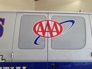 Mobile mechanic delivery vehicle wraps Fullerton CA