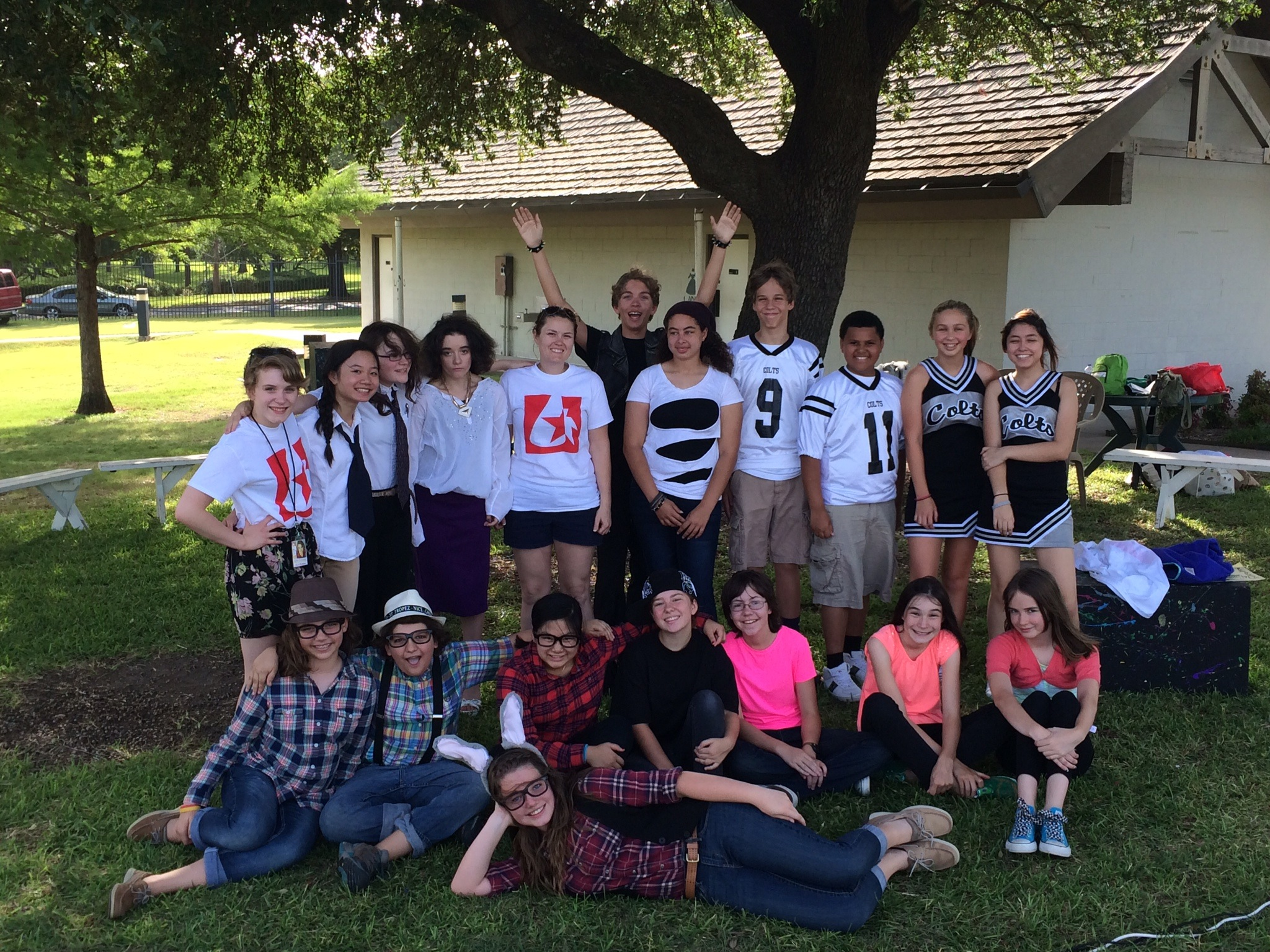 Middle School Shakespeare Camp - 2014