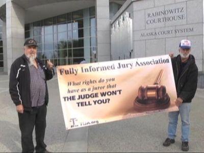 Juror Rights Educators Celebrate Jury Rights Day at Rabinowitz Courthouse in Fairbanks, Alaska