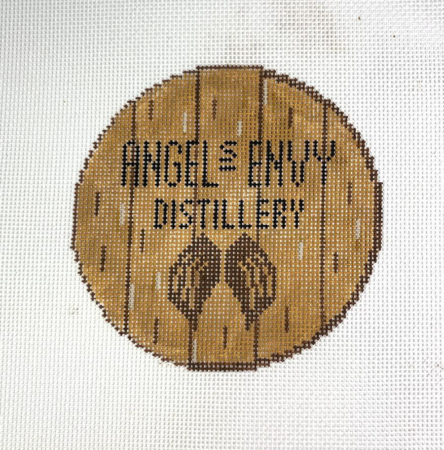 Bourbon Barrel Head - Angel's Envy