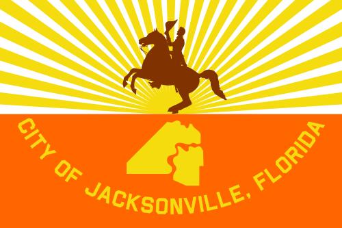 X33085 - Flag of Jacksonville, Florida