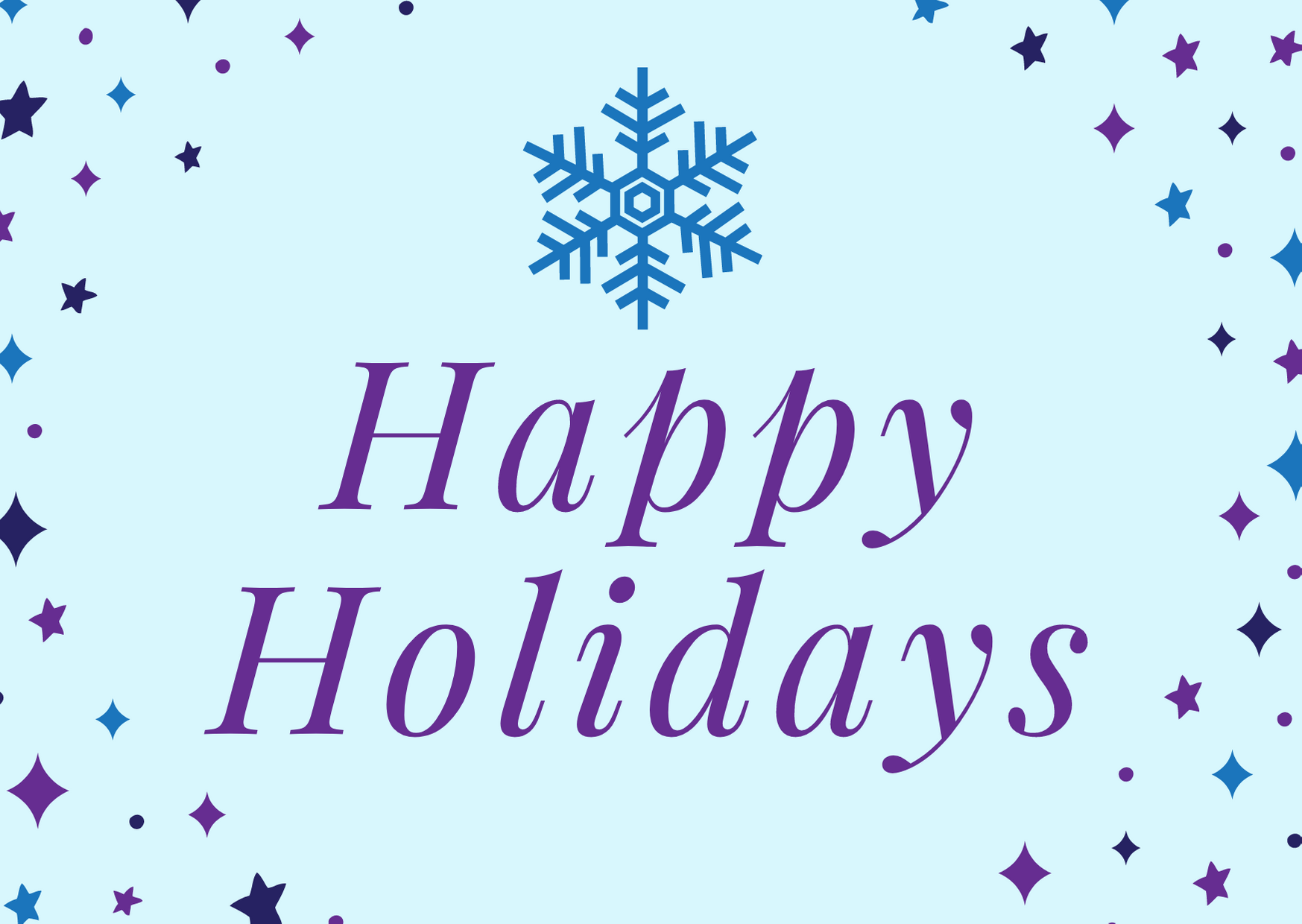 Family Services Holiday Closure Dates