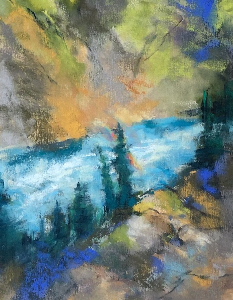Artist: Mary O'Connor, Pastel Painting