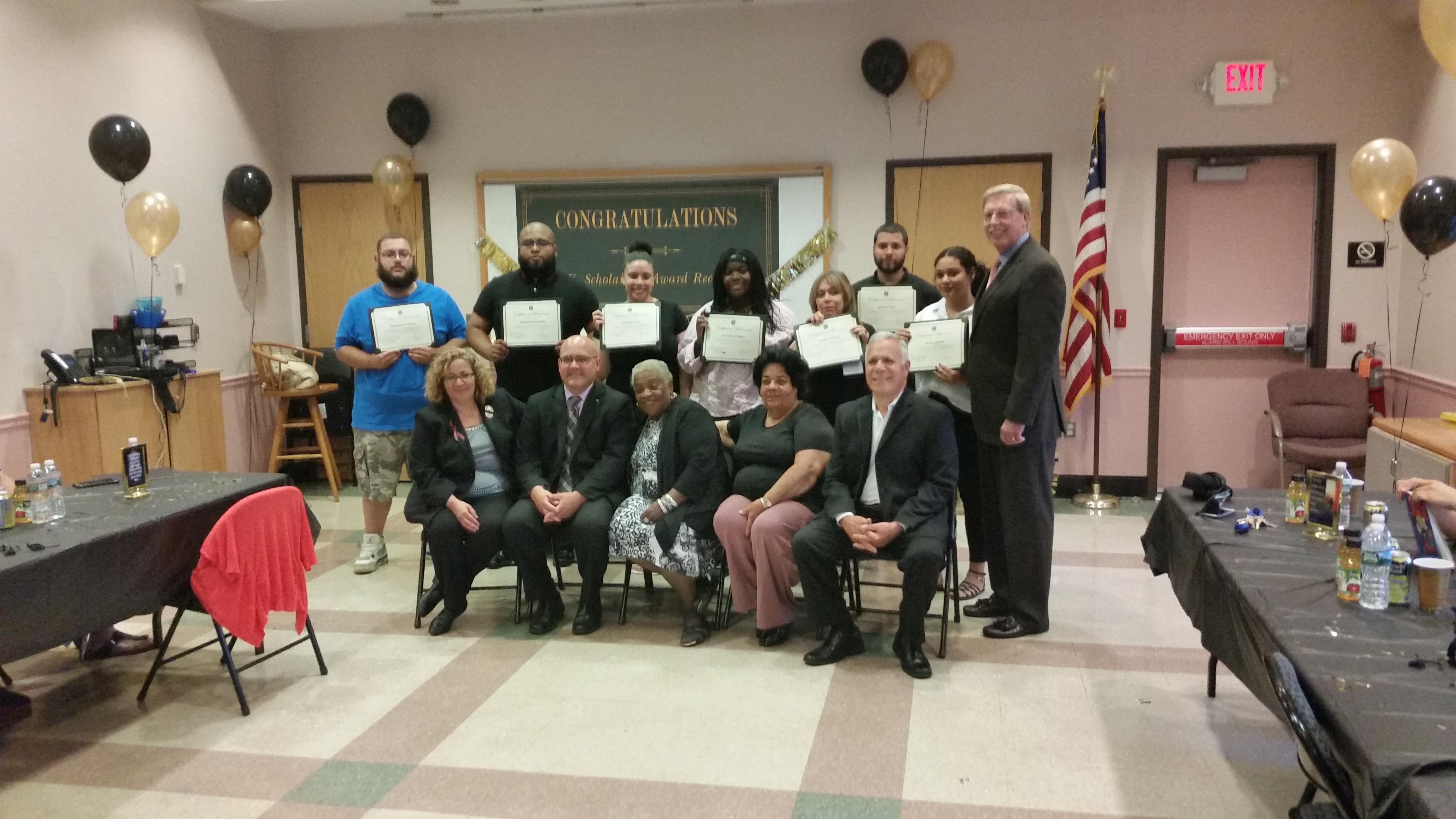 Scholarship | perth amboy recipients | high school students