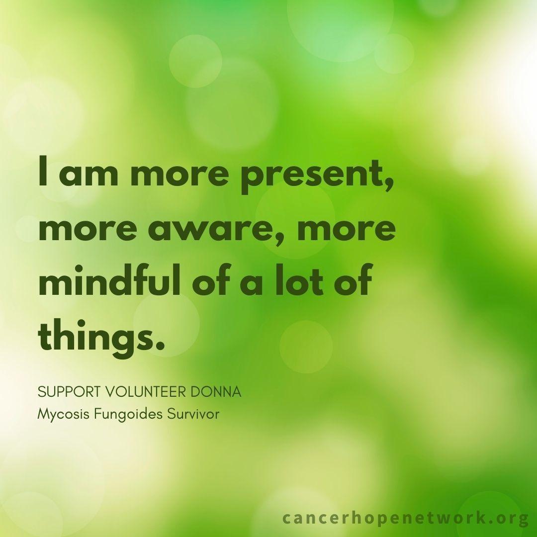 Practicing gratitude, finding hope