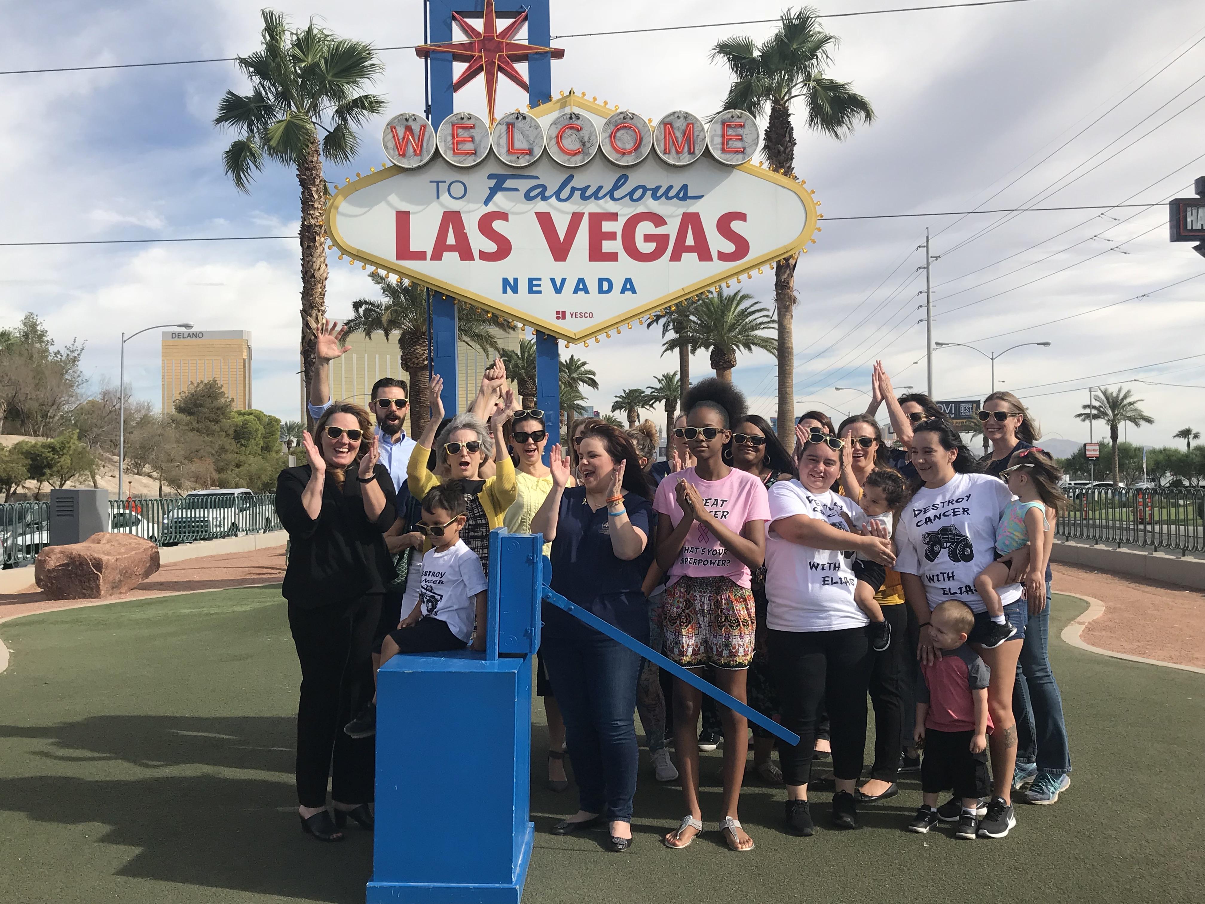 13 Action News: shineGOLD Welcome to Fabulous Las Vegas Sign Illumination