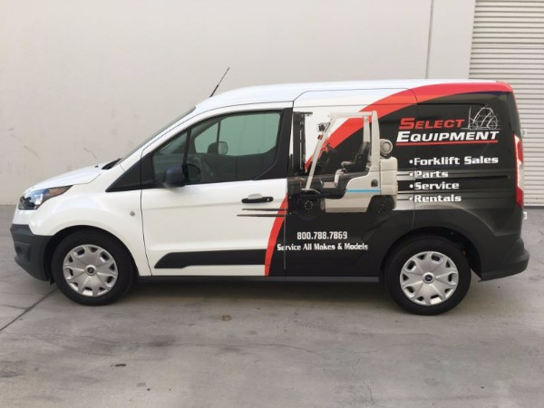 Ford Transit Fleet Wraps in Buena Park CA