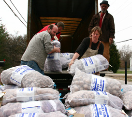 Bulk potato order 2011