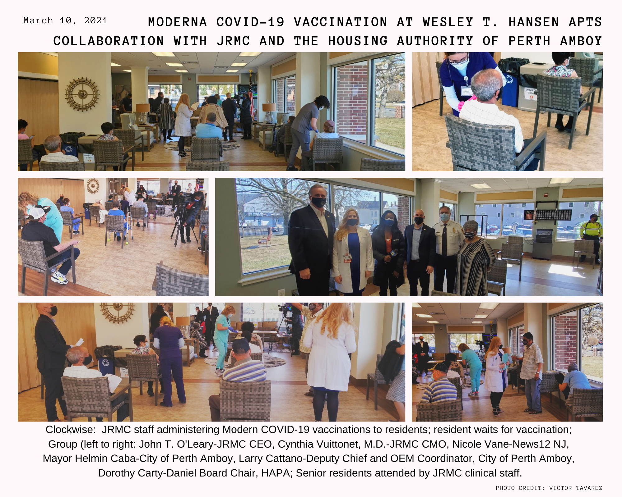 Senior Resident Vaccination March 2021