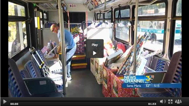 Stuff The Bus Toy Drive Making Children Happy This Holiday Season - KEYT