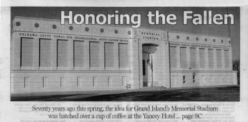 A Brief History of Grand Island Public Schools: Memorial Stadium