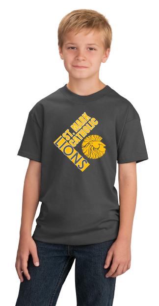 Lions T-shirt - Charcoal