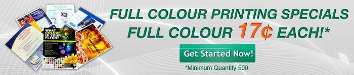 Full Colour Printing Special