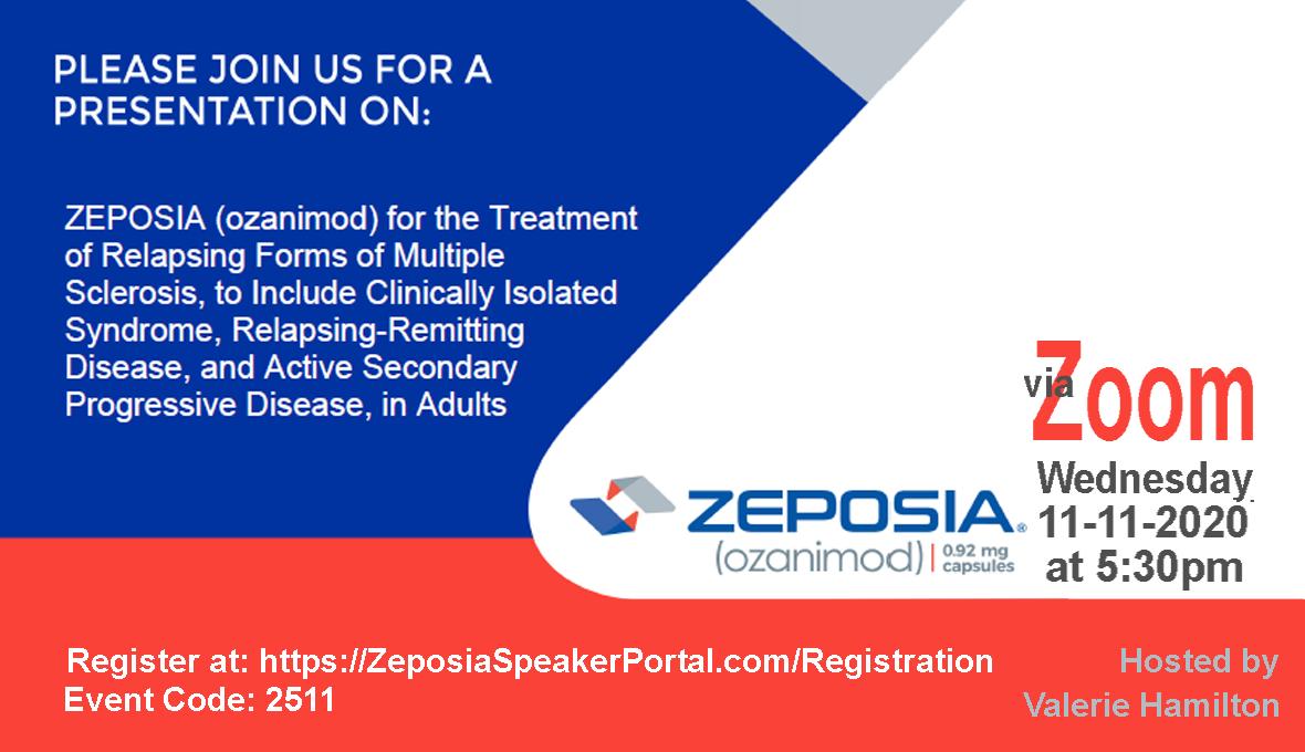 Zeposia Online Event