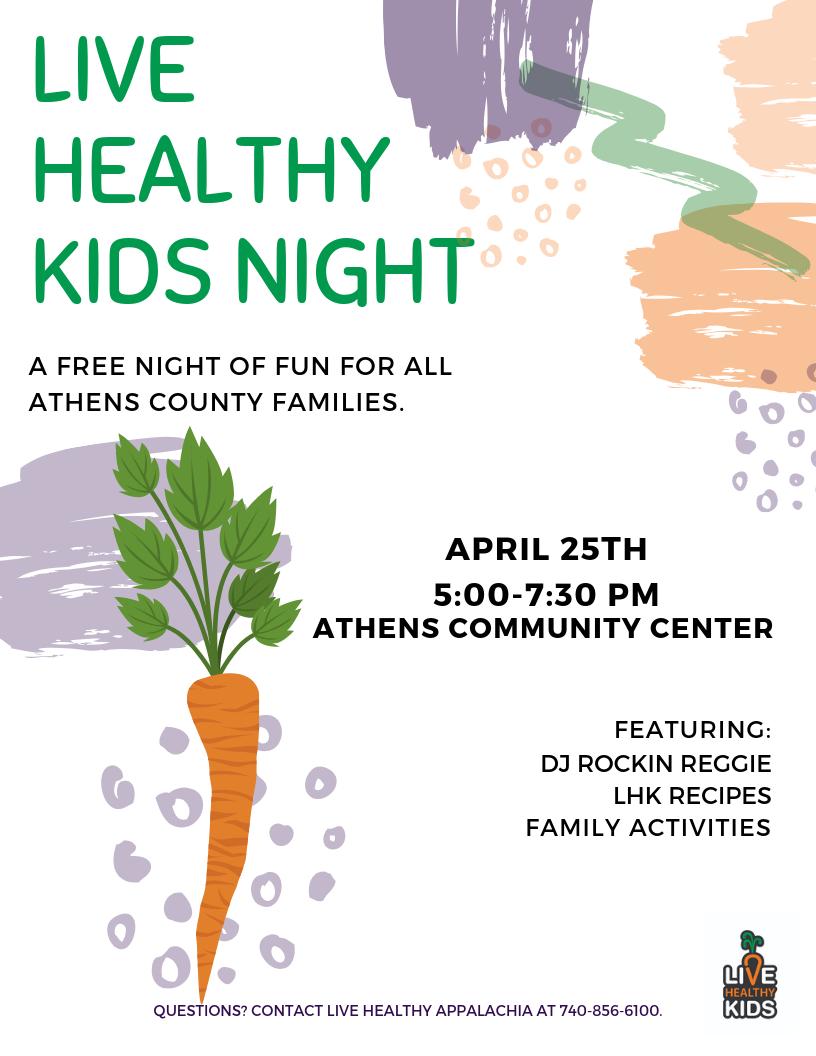 Live Healthy Kids Night