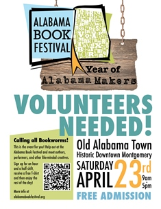 The 11th Annual Alabama Book Festival