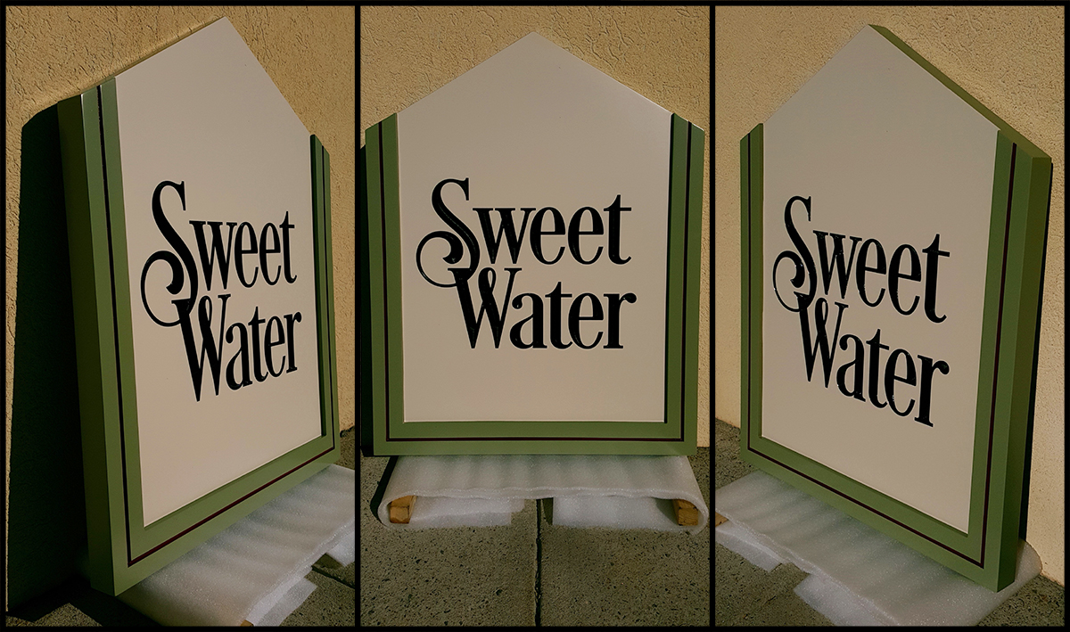 Sweet Water Cabin Sign