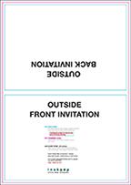"5"" x 7"" Fold-over Landscape"
