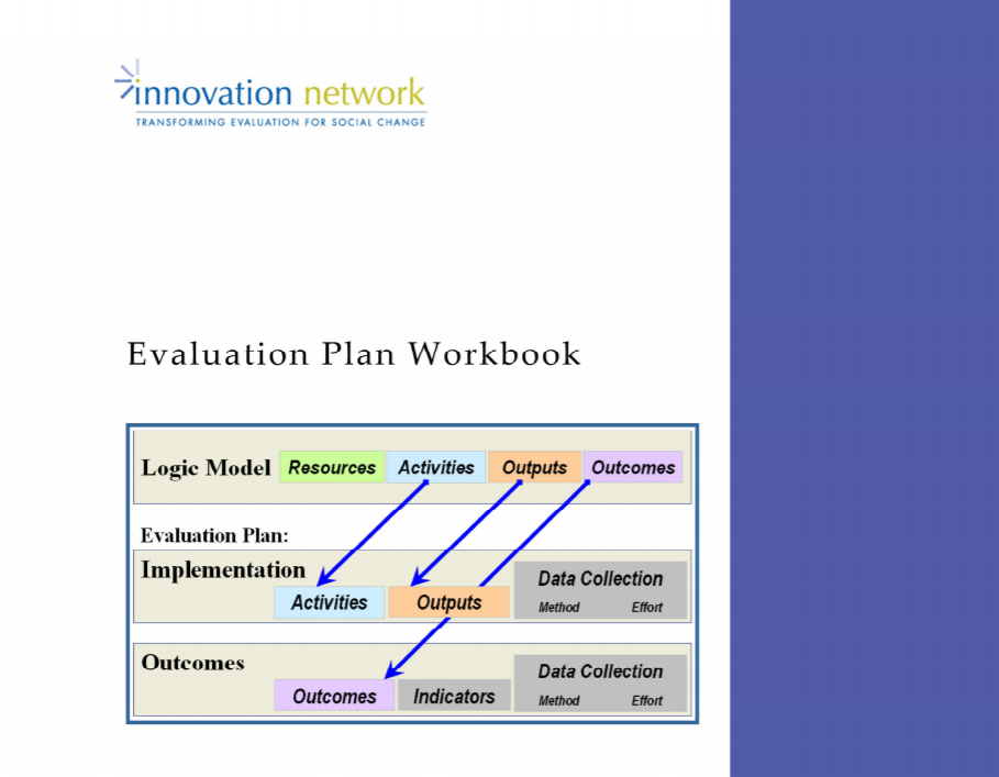 Evaluation Plan Workbook