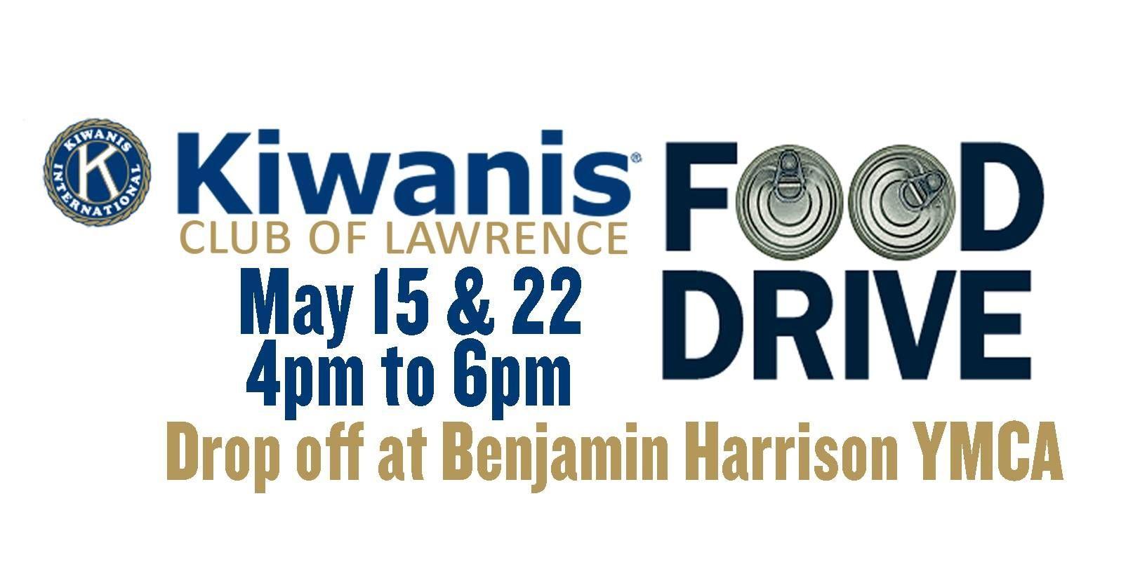 Kiwanis Club of Lawrence Food Drive