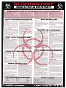 OSHA Bloodborne Poster