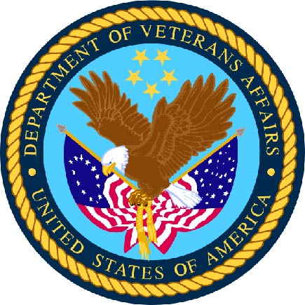 U30280 - Department of Veteran's Affairs Seal Carved 3D Wall Plaque