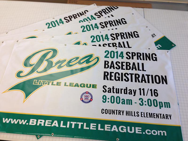 Little League Banners