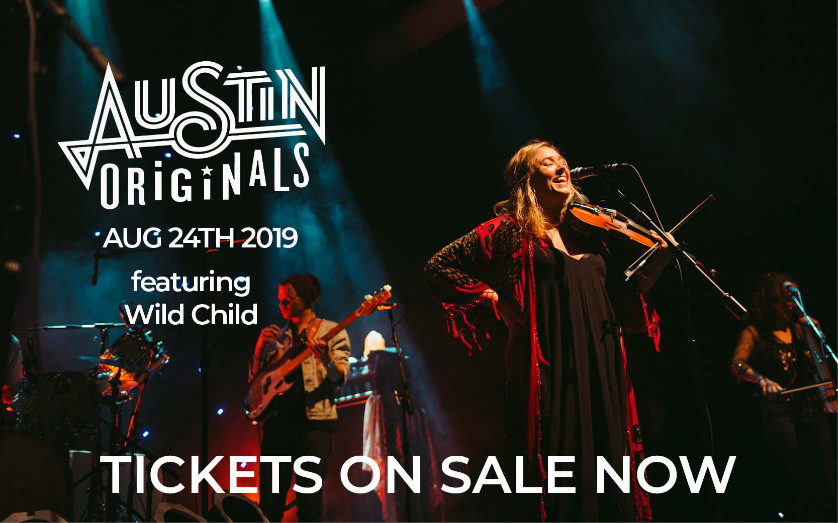 Wild Child to Headline 8th Annual Austin Originals