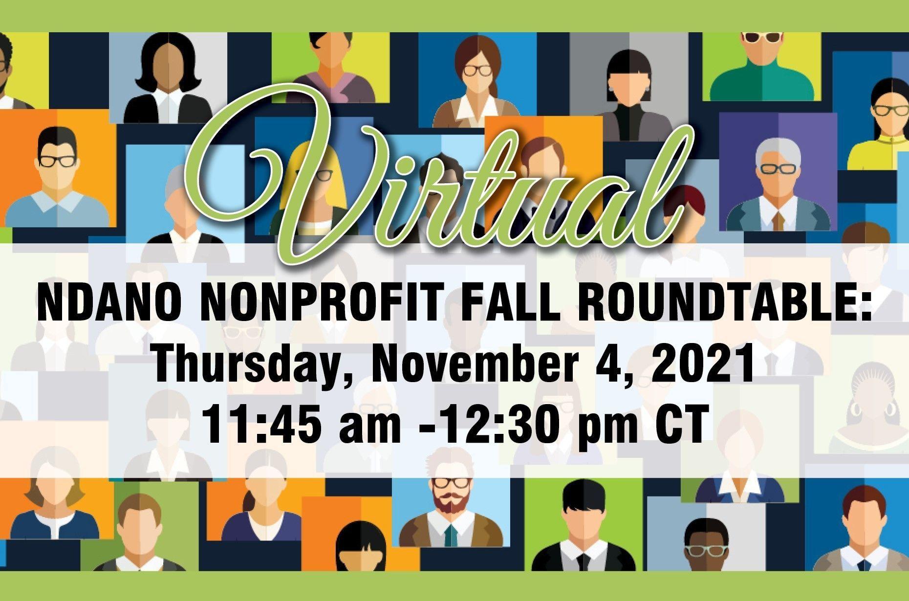 NDANO Nonprofit Fall Roundtable