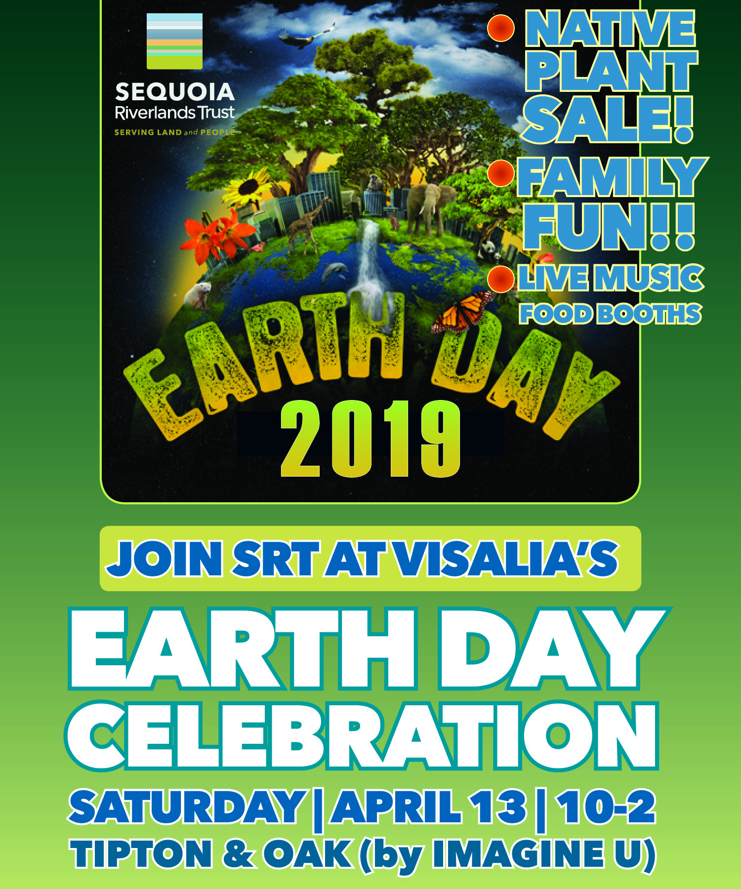 SRT at Visalia Earth Day event