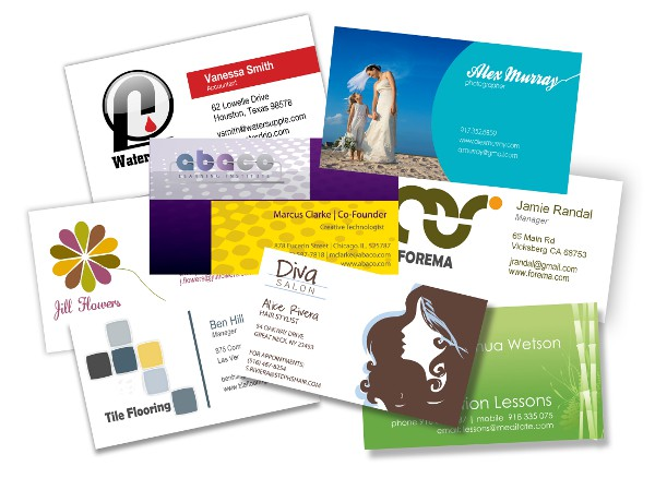 Professional business cards design and print custom cards reheart Images