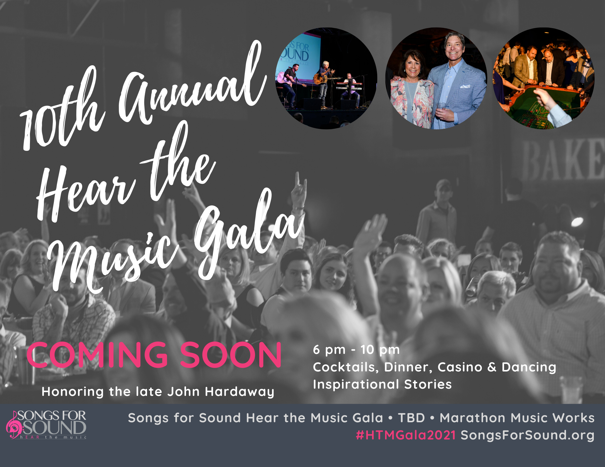 2021 Hear the Music Gala Table Sponsorship