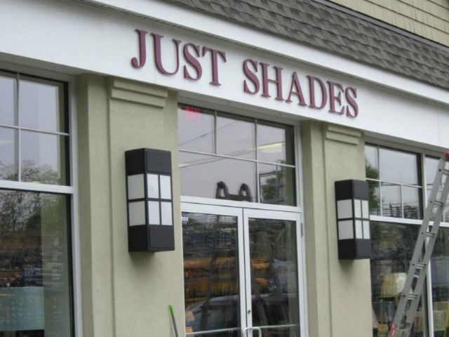 Exterior Signs and Window Lettering