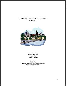 MACA Community Needs Assessment Tool Kit