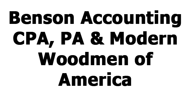 Benson Accounting CPA, PA & Modern Woodmen of America