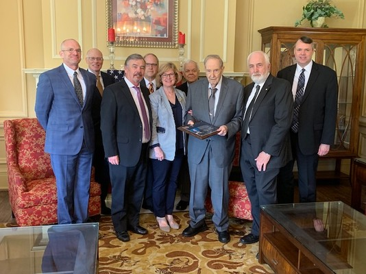 Special Hall of Honor Presentation for Dick Bernard - May 2019