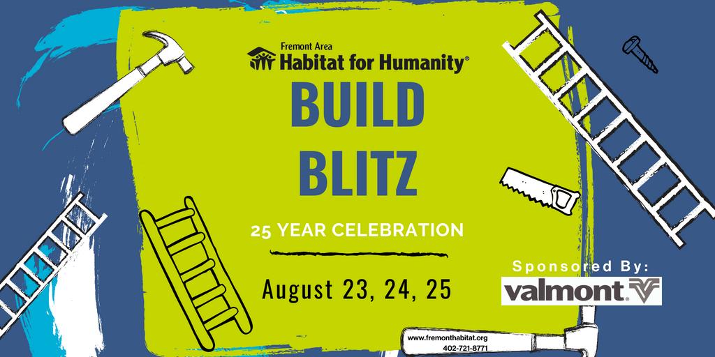 25th Anniversary Build Blitz