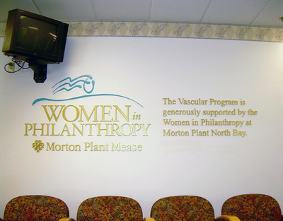 Interior Wall Logo