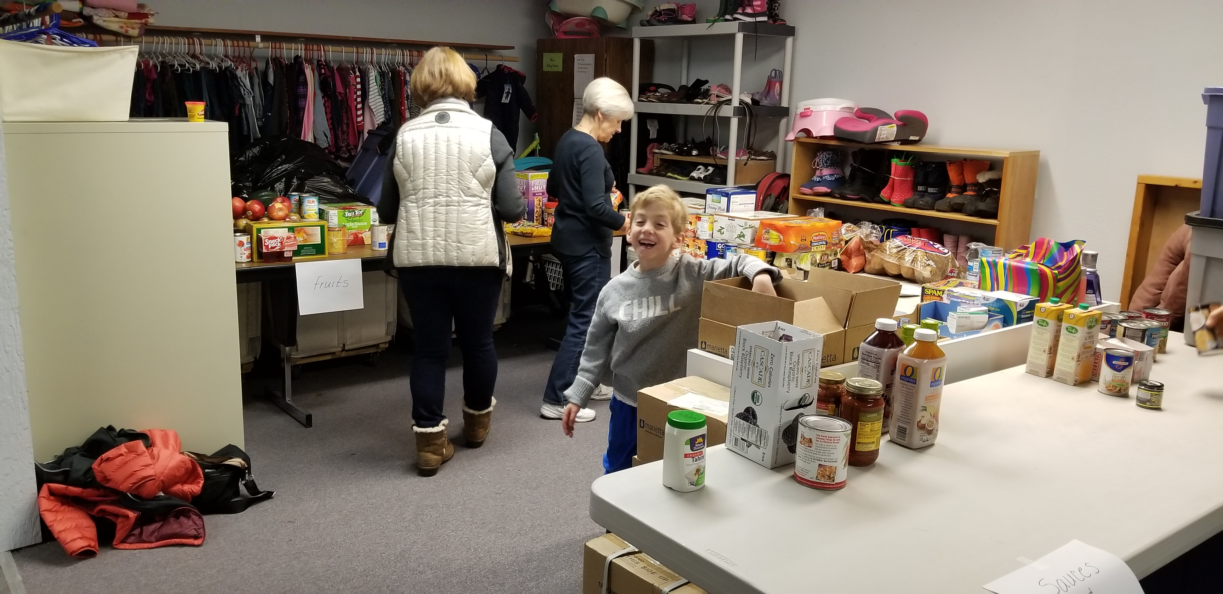 10th Annual Broken Top Food Drive is a HUGE Success!