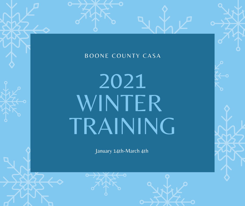 Volunteer Training January 14th- March 4th