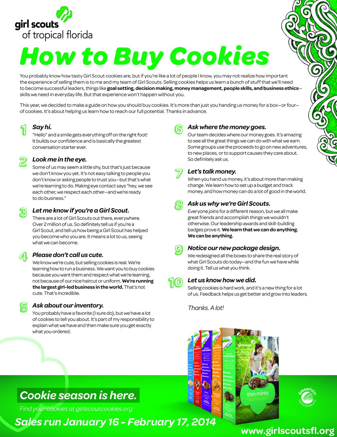 How to Buy Cookies
