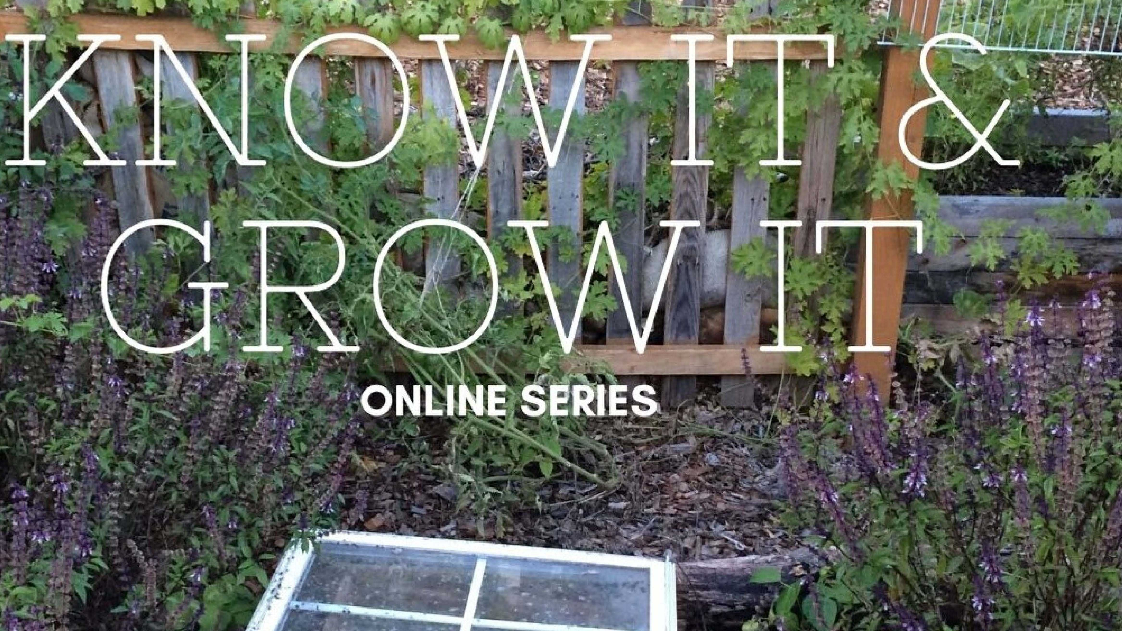 Know It and Grow It Online Series