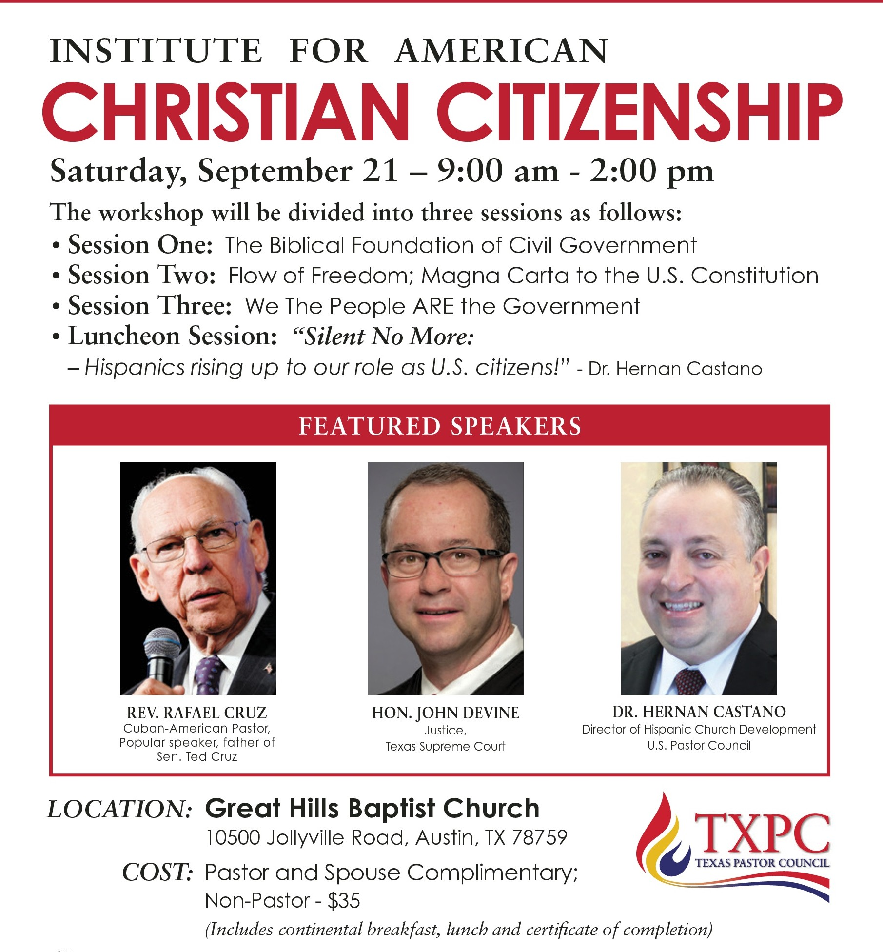 Austin - Institute for American Christian Citizenship
