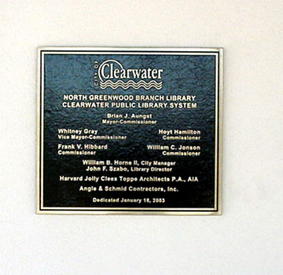 Commerative Plaque