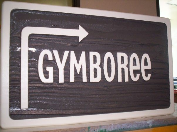 FA15770 - Gym Directional Sign for School
