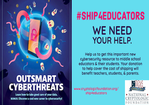 """Help Get """"Outsmart Cyberthreats"""" to Middle School Educators and their Students"""