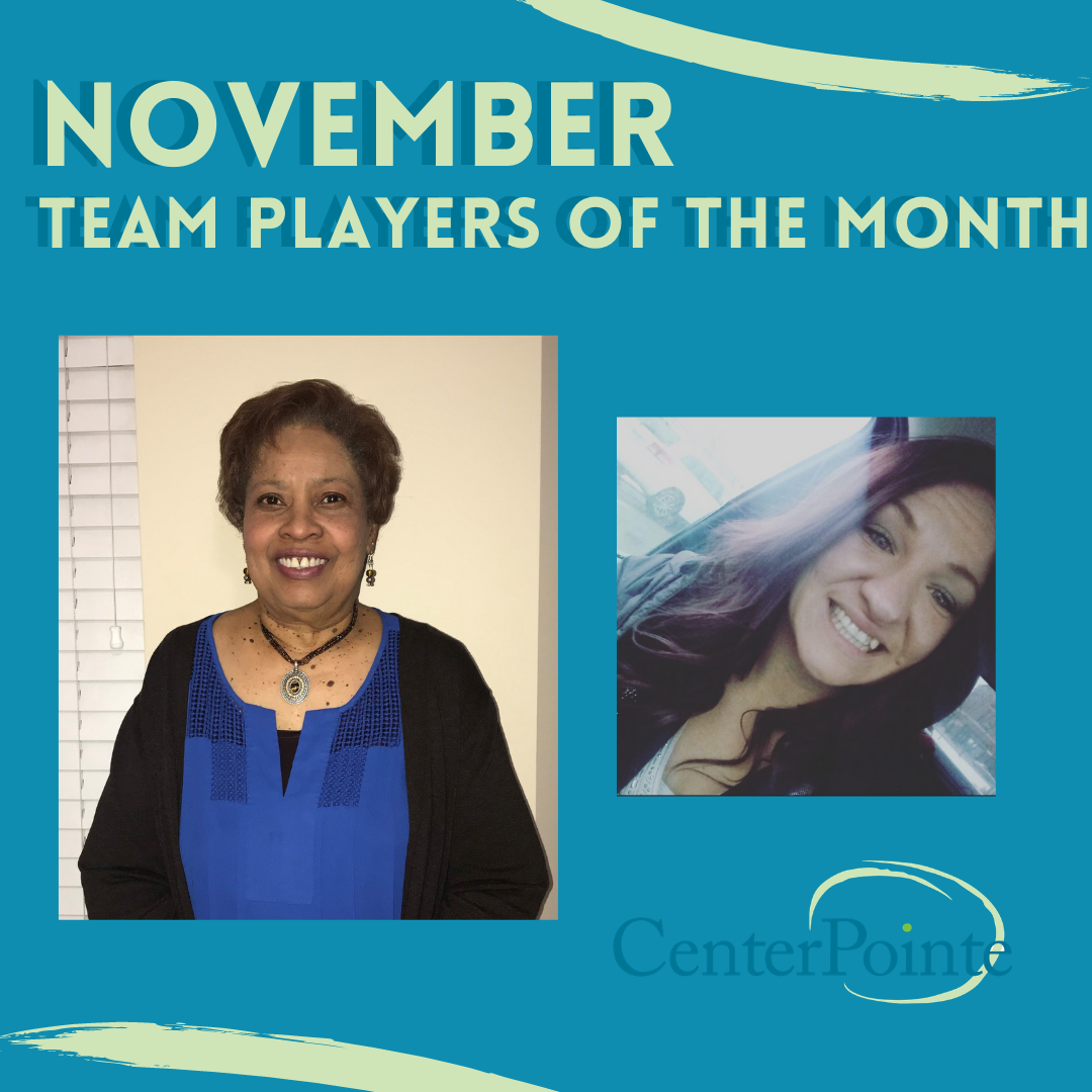 November Team Players of the Month