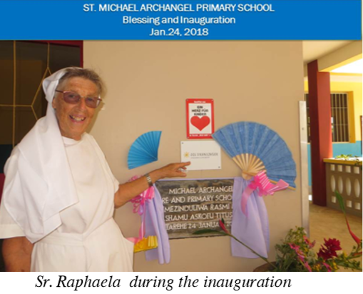 Michael Archangel Pre and Primary School Blessed