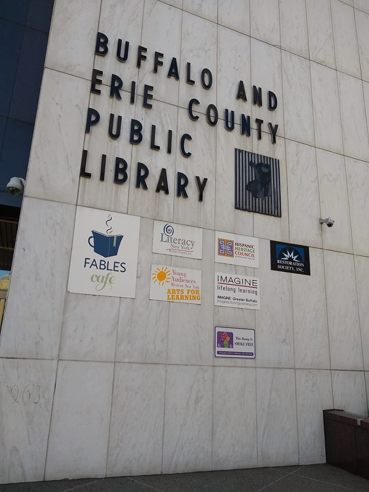 Visit Us at the Public Library!