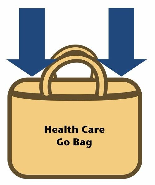 Health Care Go Bag